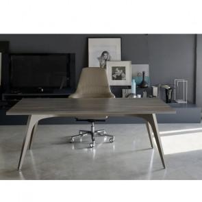 UD118BO scrivania direzionale con piano nobilitato