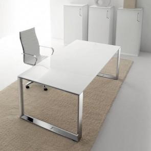 UD114BO scrivania direzionale con base a anello