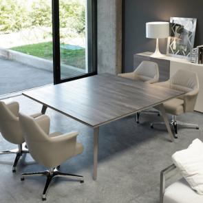 UD118BO tavolo riunioni con piano in nobilitato